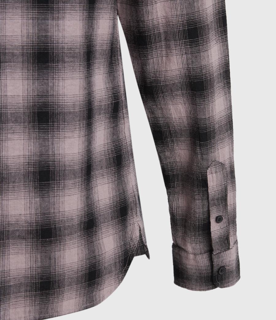 Hombres Copeland Linen Blend Shirt (pink) - Image 4