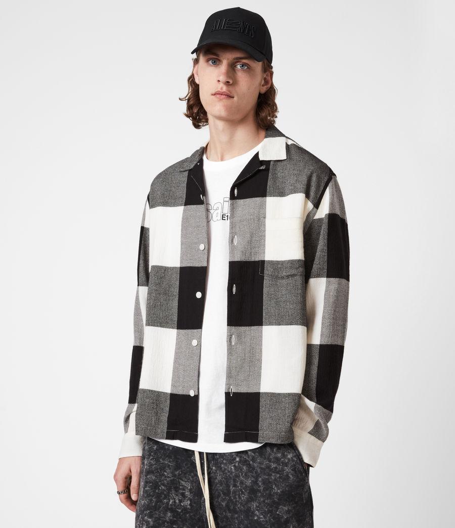 Mens Lausanne Shirt (white_black) - Image 1