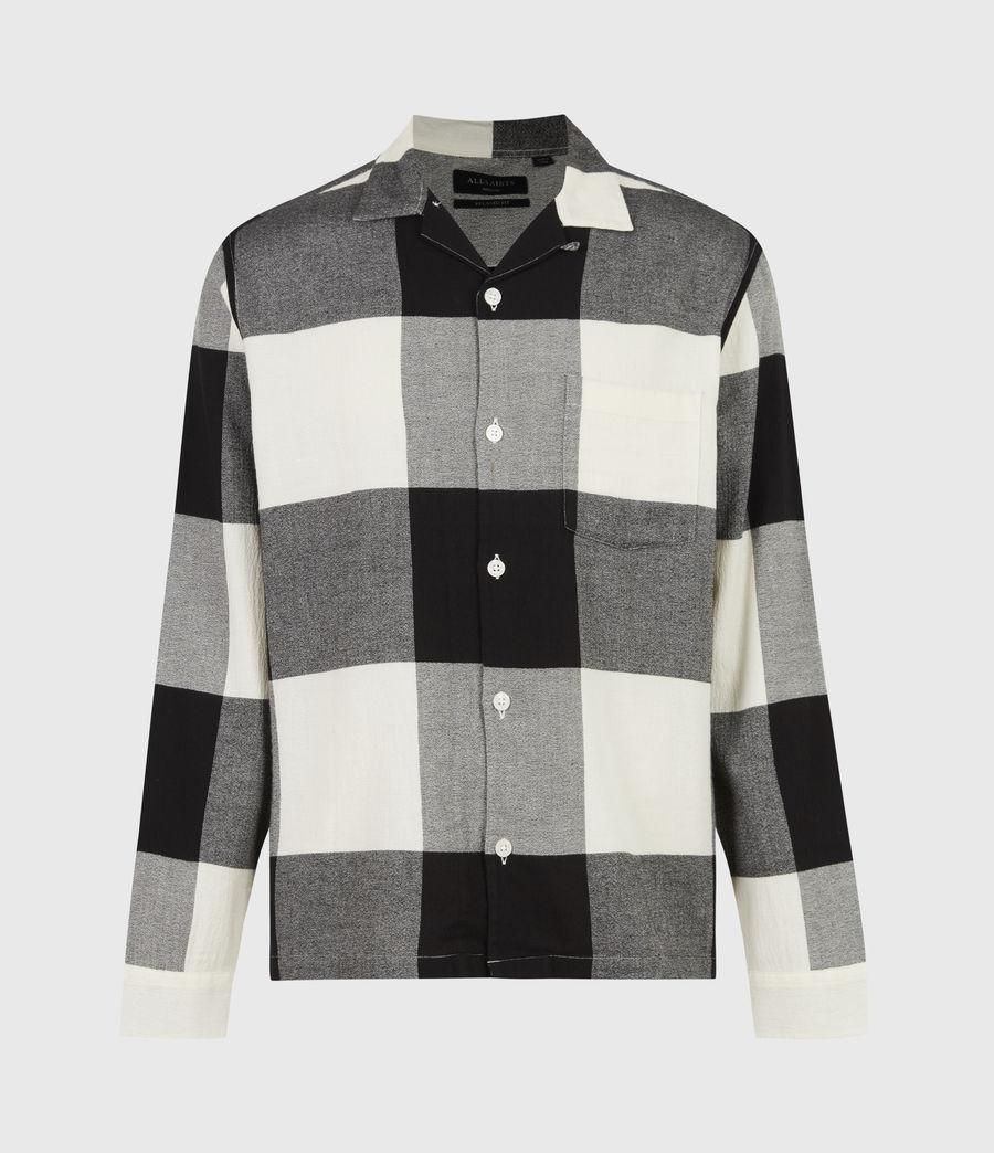 Mens Lausanne Shirt (white_black) - Image 2
