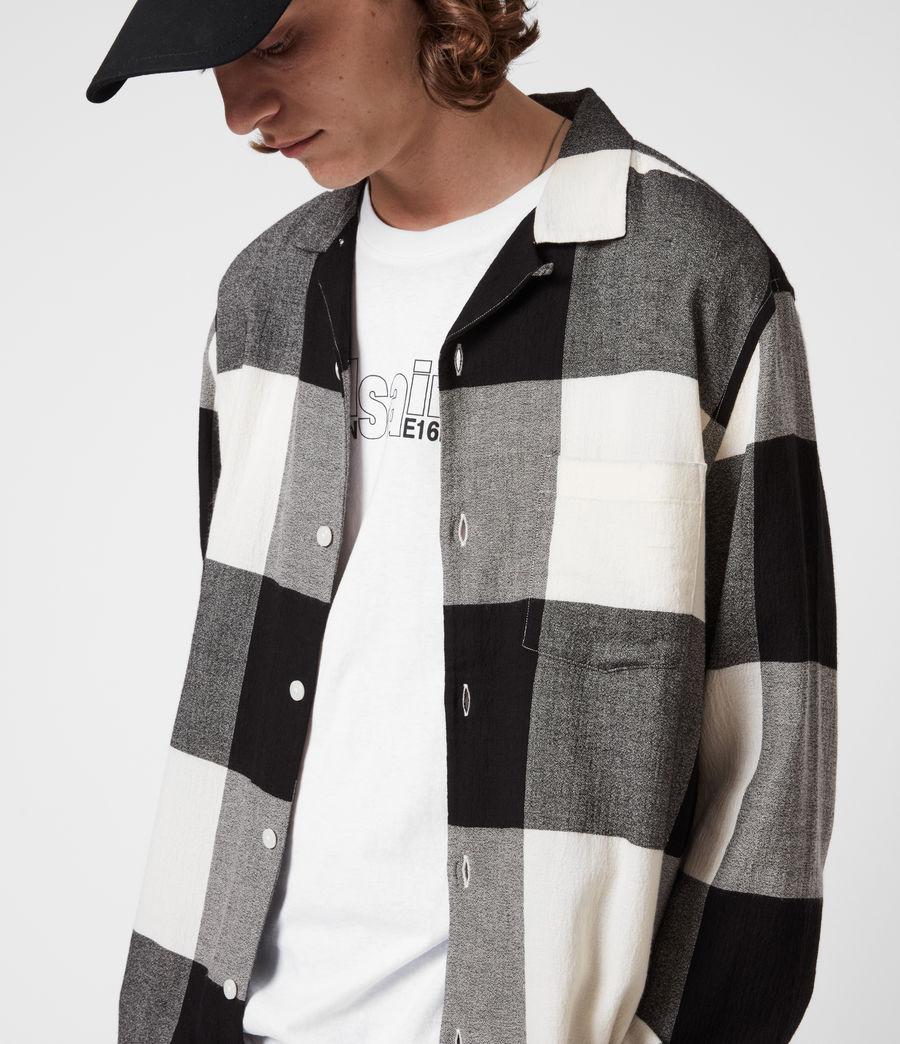 Mens Lausanne Shirt (white_black) - Image 4