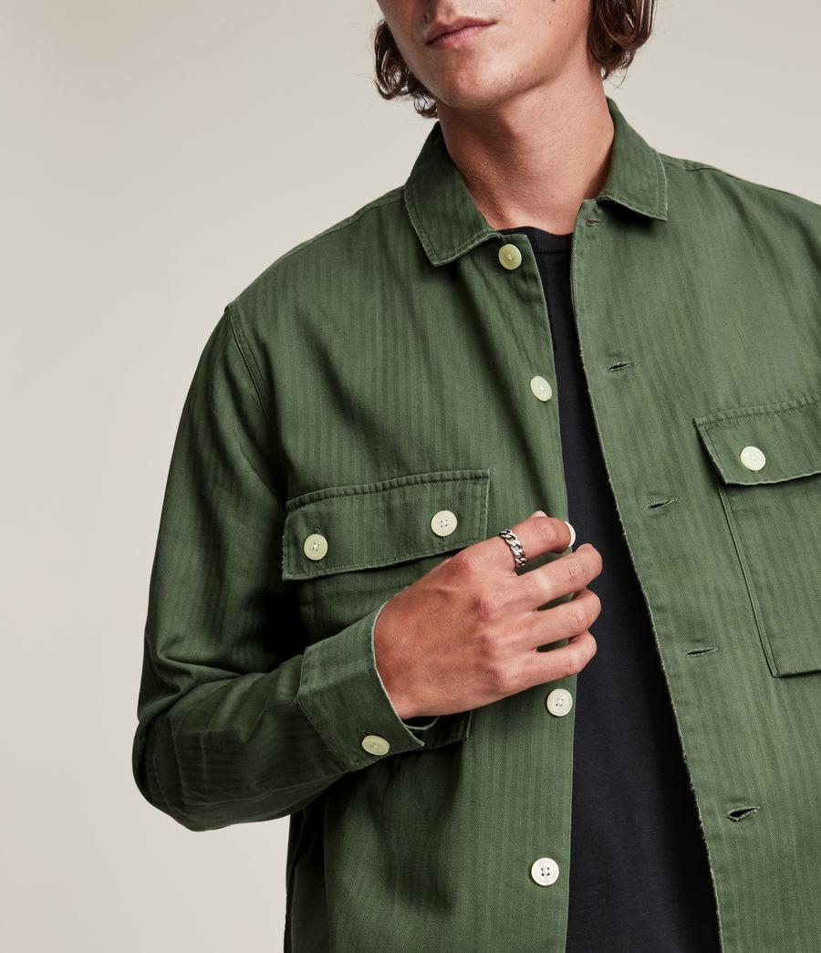 Mens Carrier Shirt (meadow_green) - Image 2