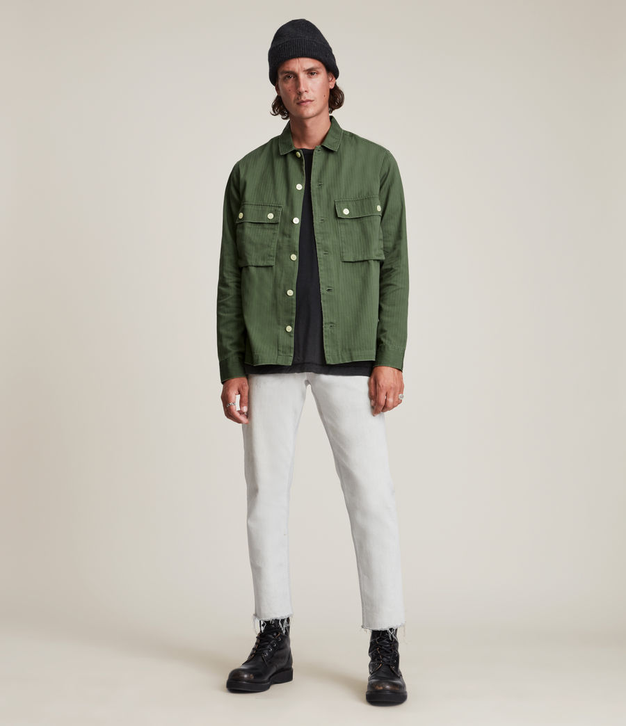 Mens Carrier Shirt (meadow_green) - Image 3