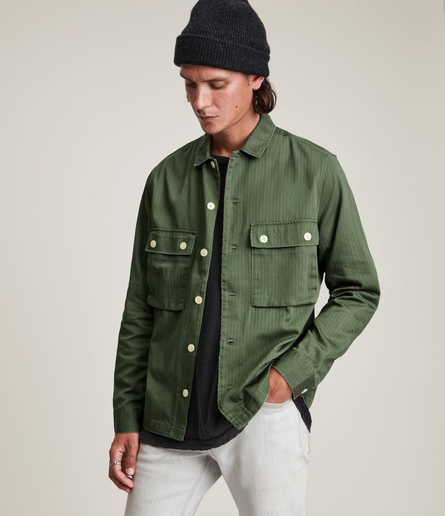 Mens Carrier Shirt (meadow_green) - Image 4