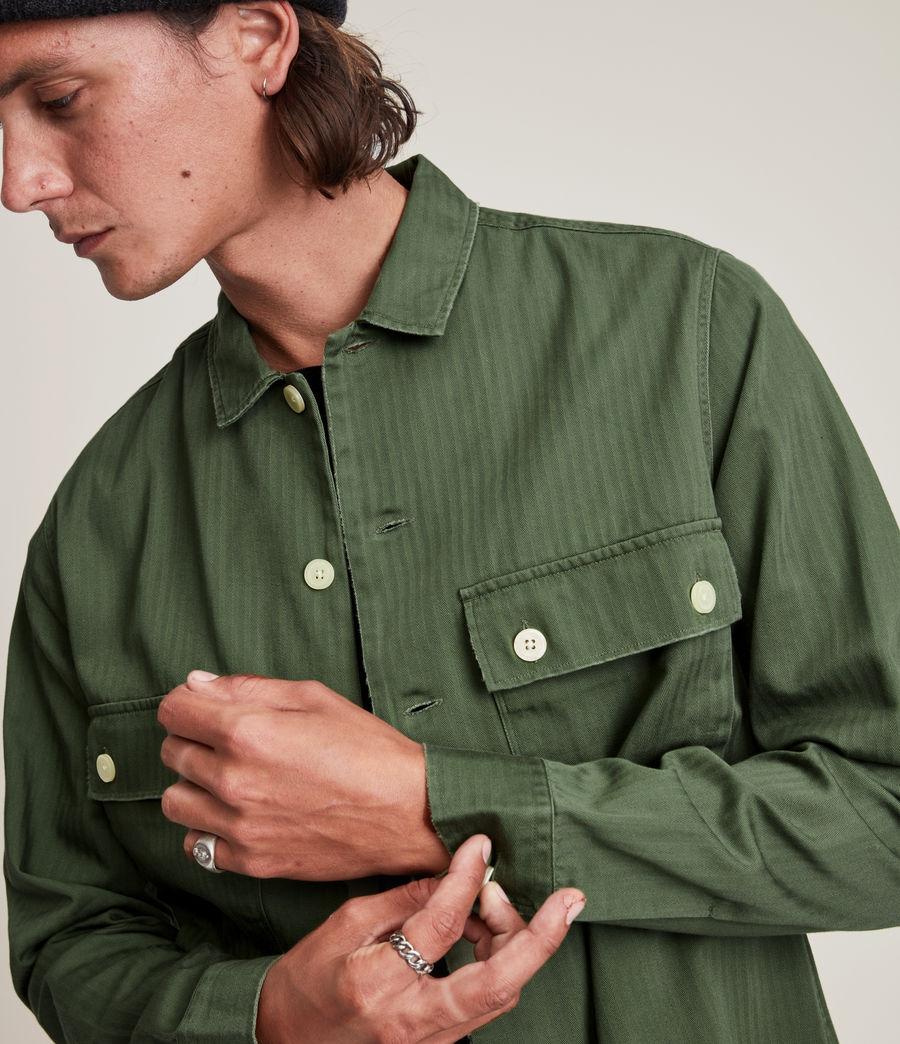 Mens Carrier Shirt (meadow_green) - Image 5