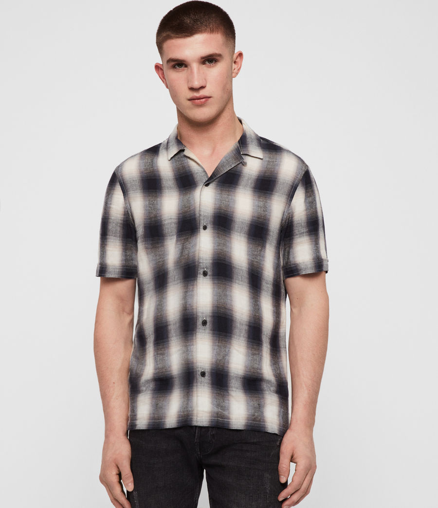 Mens Tincup Shirt (ink_blue) - Image 1