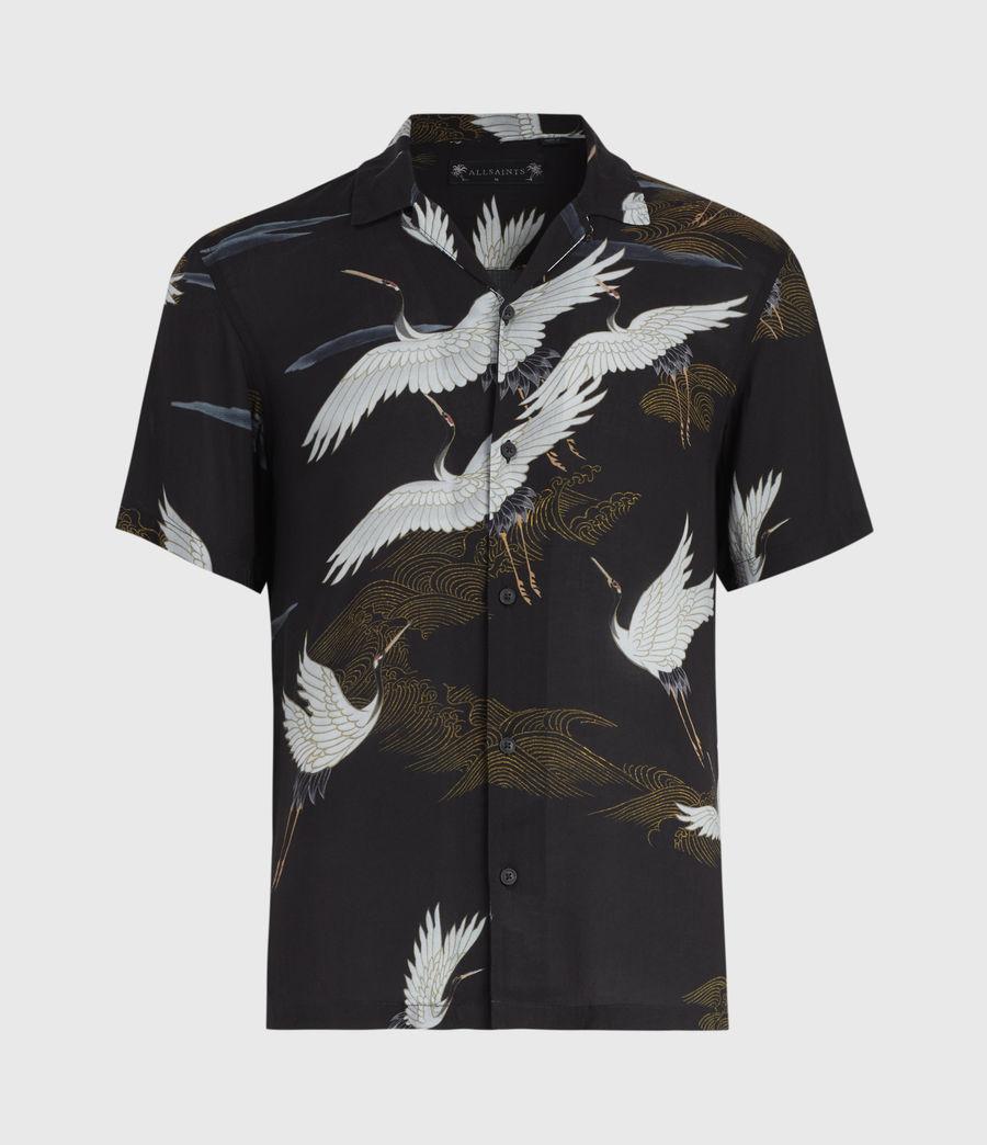 Hommes Chemise Hawaïenne Yonder (black) - Image 1