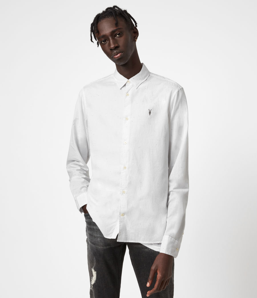 Men's Balko Shirt (white) - Image 1