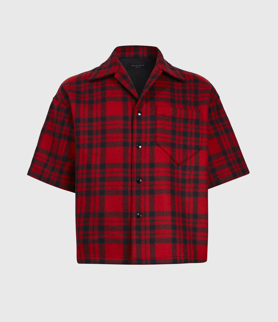 Mens Marley Shirt (red_black) - Image 2