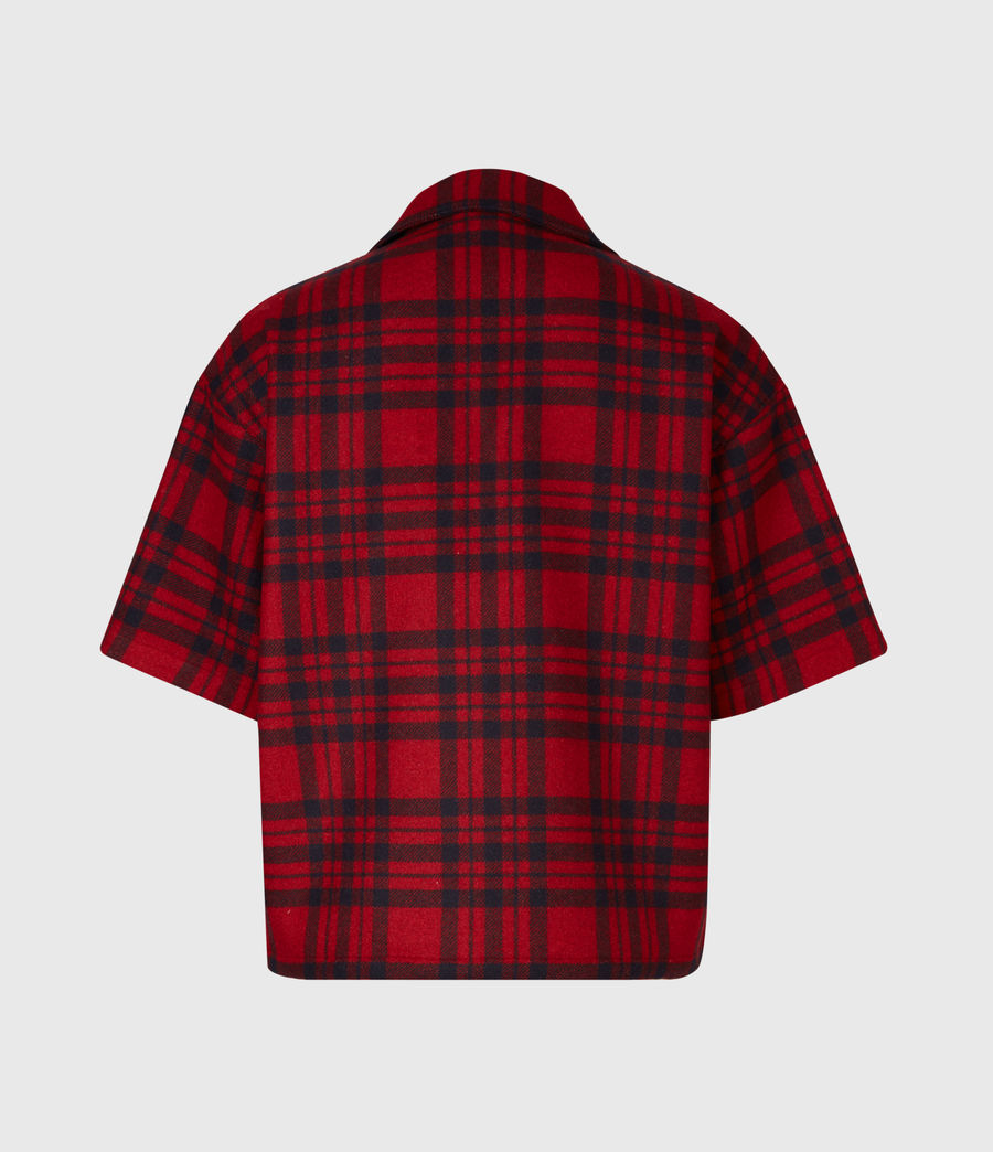 Mens Marley Shirt (red_black) - Image 3