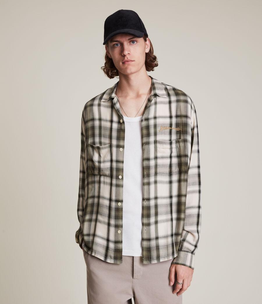 Mens Rancho Shirt (ecru) - Image 1