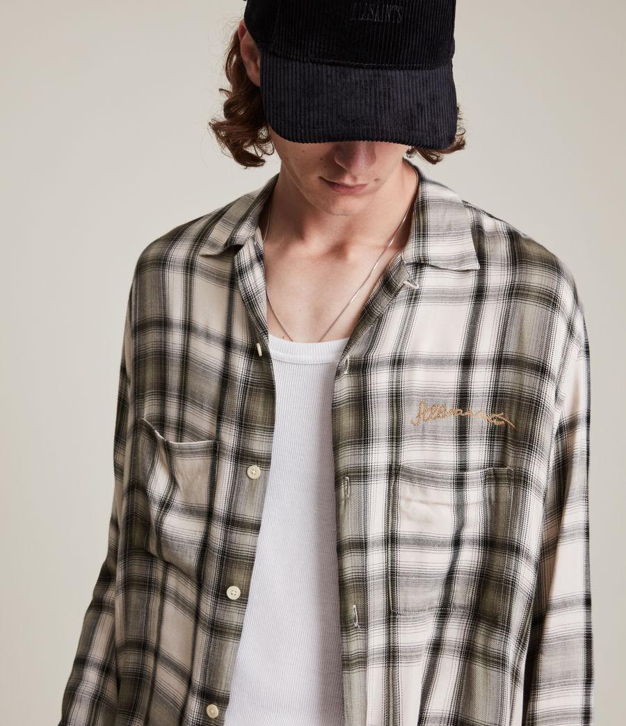 Mens Rancho Shirt (ecru) - Image 2