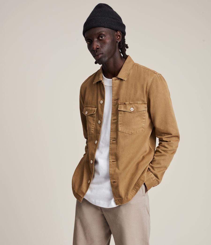 Mens Spotter Shirt (mocha_brown) - Image 1