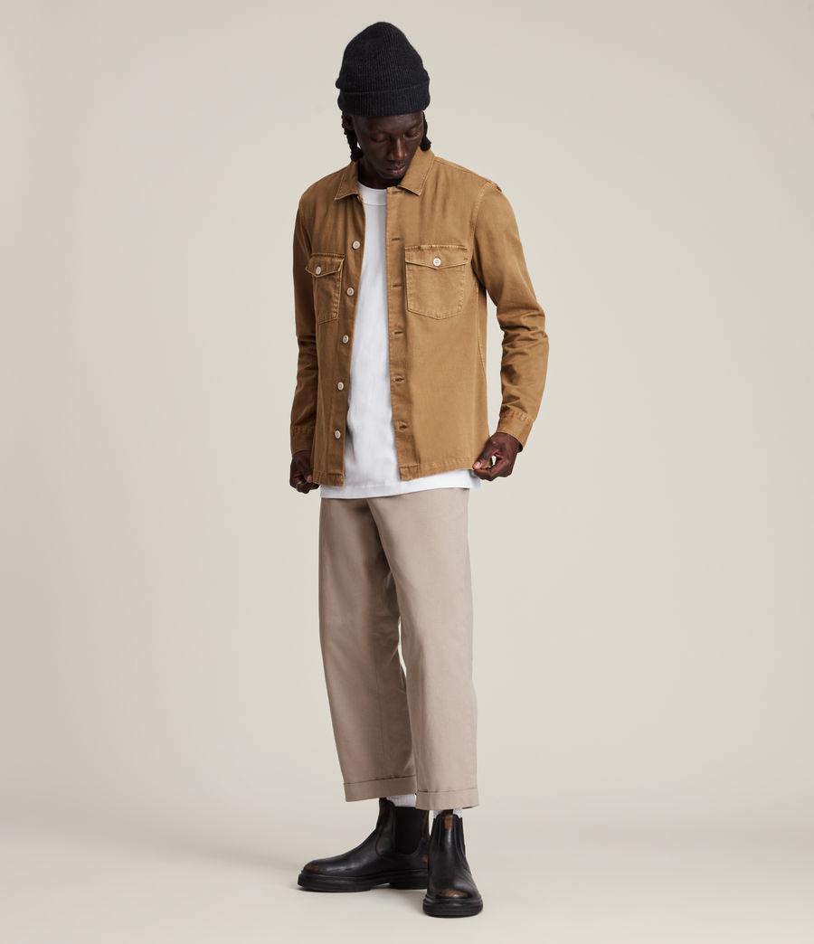 Mens Spotter Shirt (mocha_brown) - Image 3