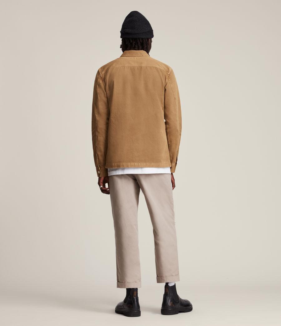Mens Spotter Shirt (mocha_brown) - Image 4
