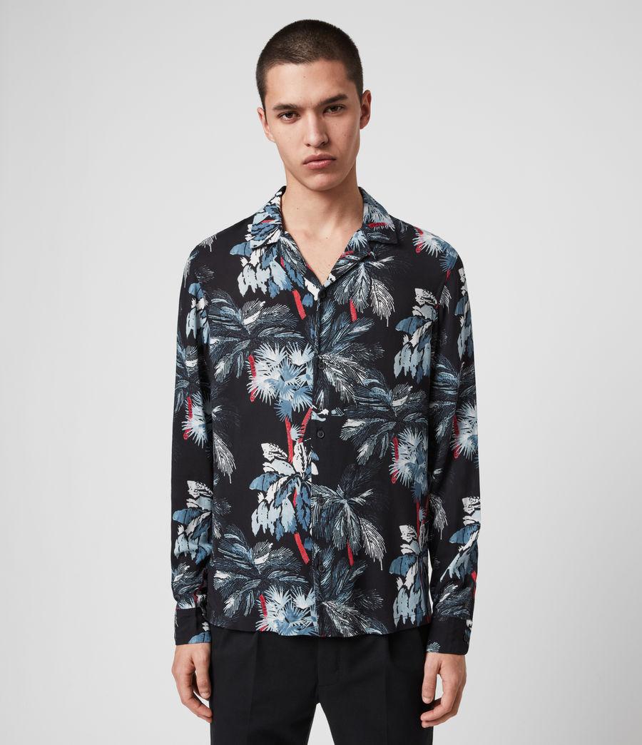 Herren Monteverde Hemd (jet_black) - Image 1