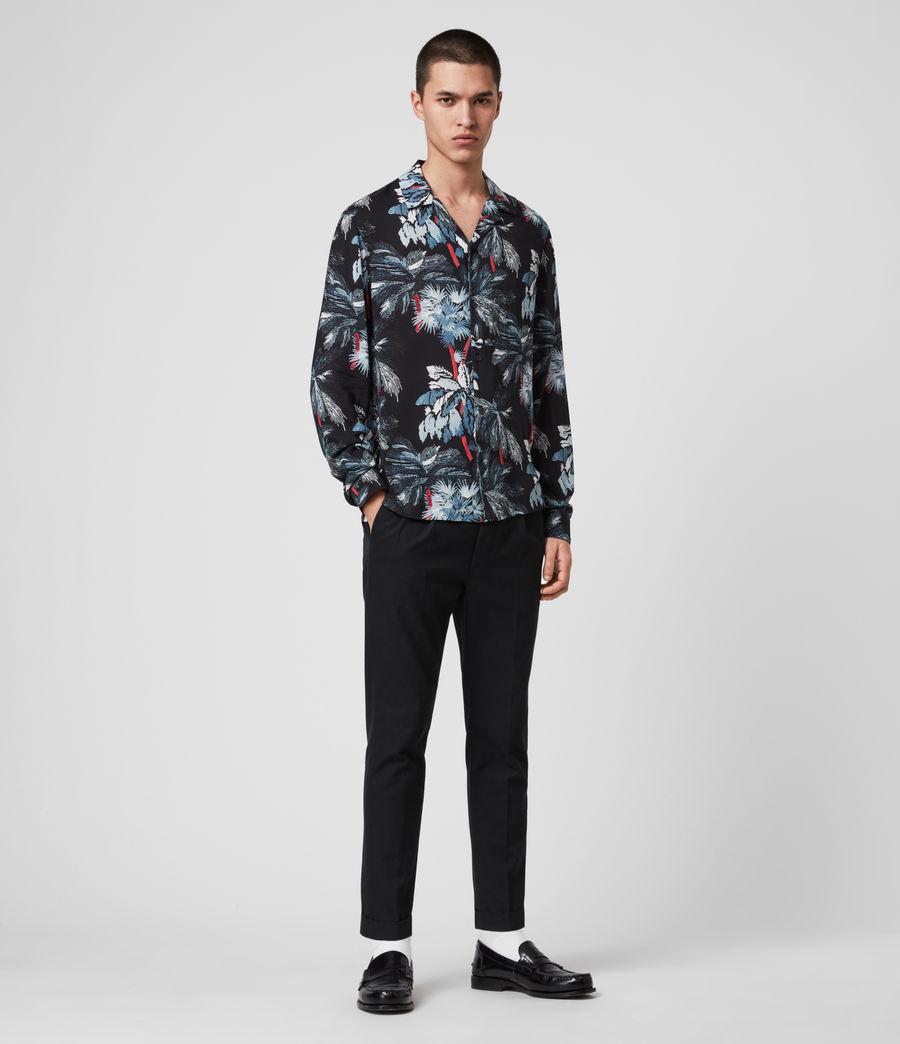Mens Monteverde Shirt (jet_black) - Image 3