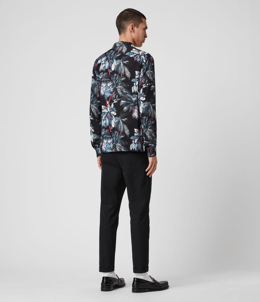 Mens Monteverde Shirt (jet_black) - Image 4