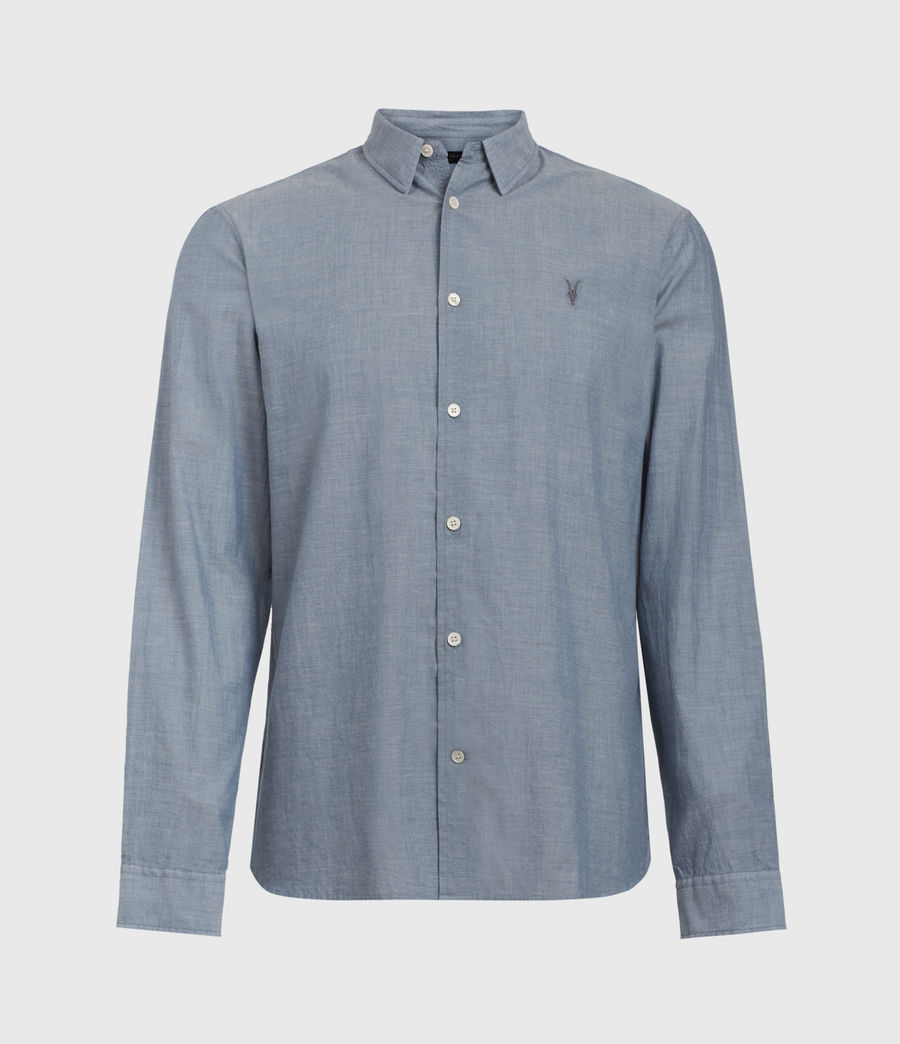 Men's Irvine Shirt (indigo) - Image 1