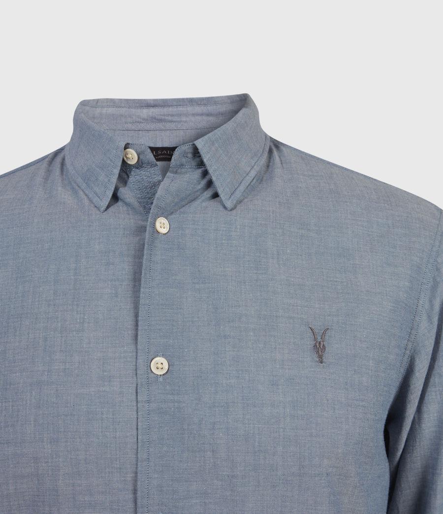 Men's Irvine Shirt (indigo) - Image 3
