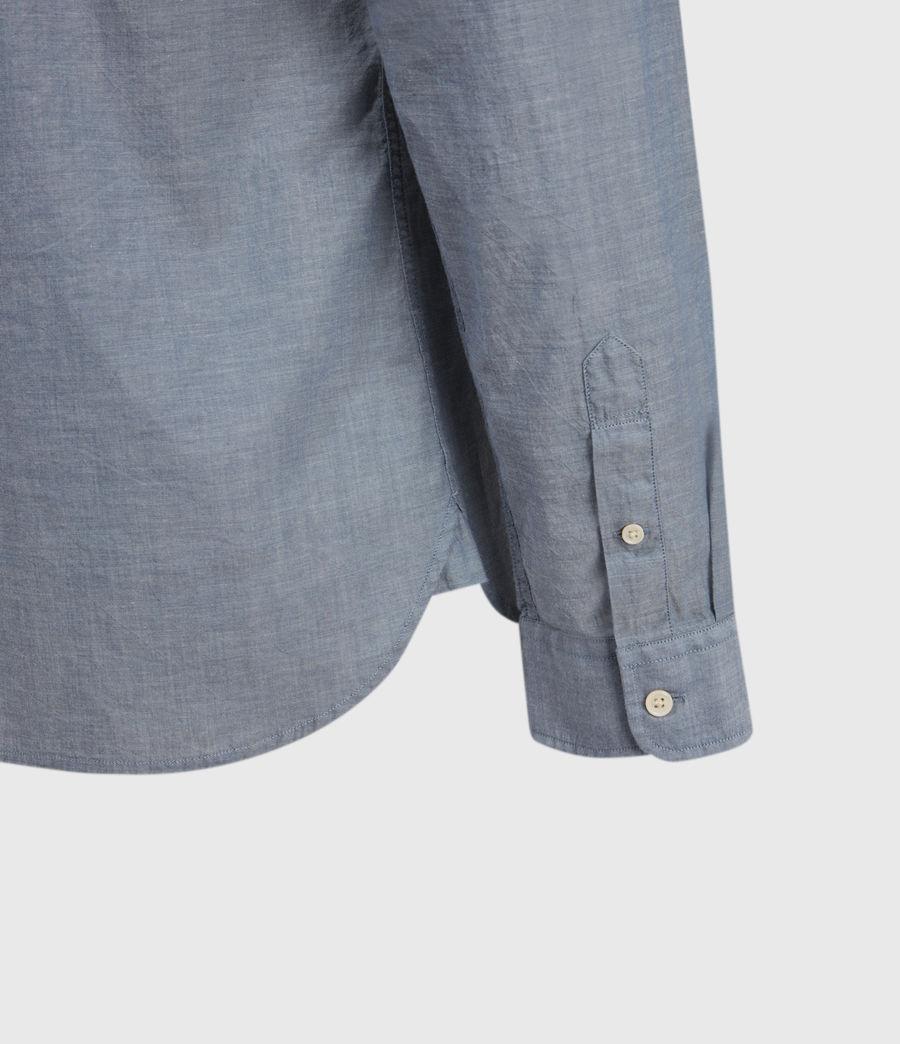 Men's Irvine Shirt (indigo) - Image 4