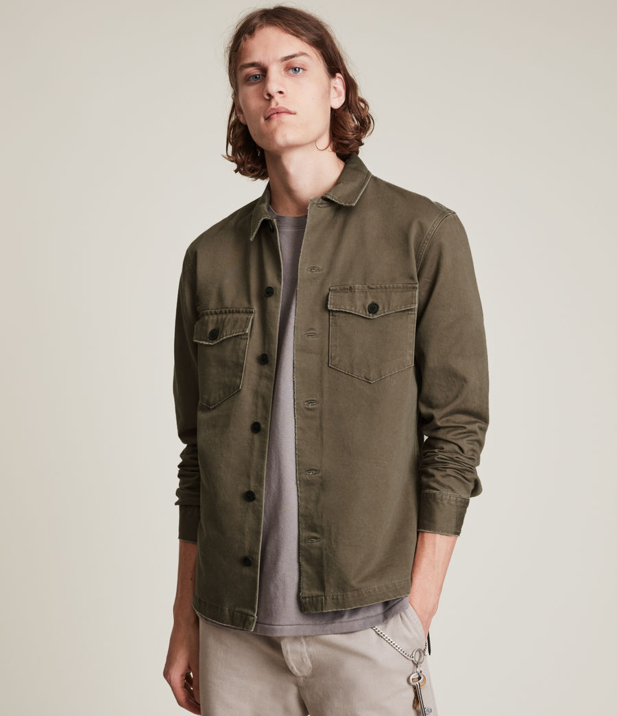 Herren Firebase Shirt (woodland_brown) - Image 2