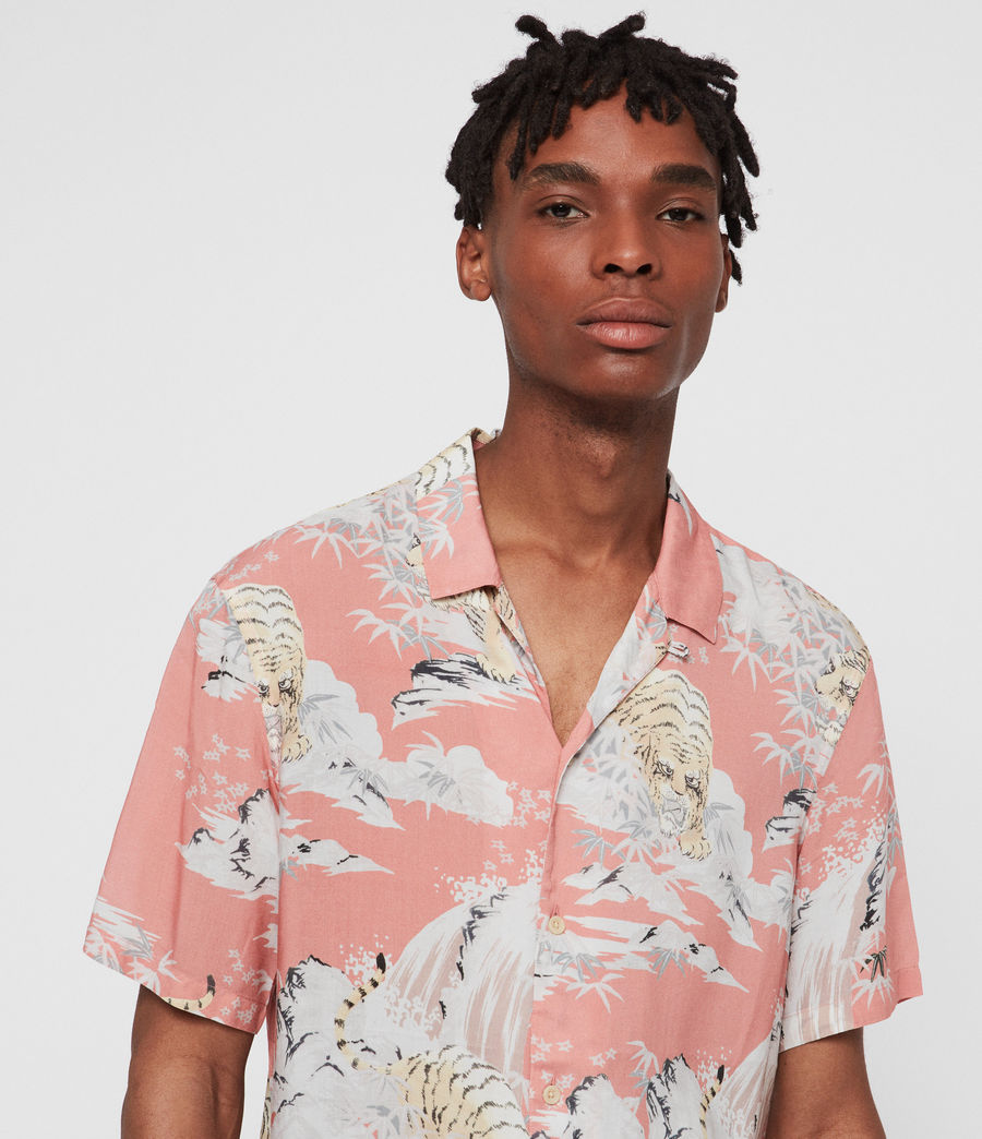 Hombres Camisa Borneo (pink) - Image 2