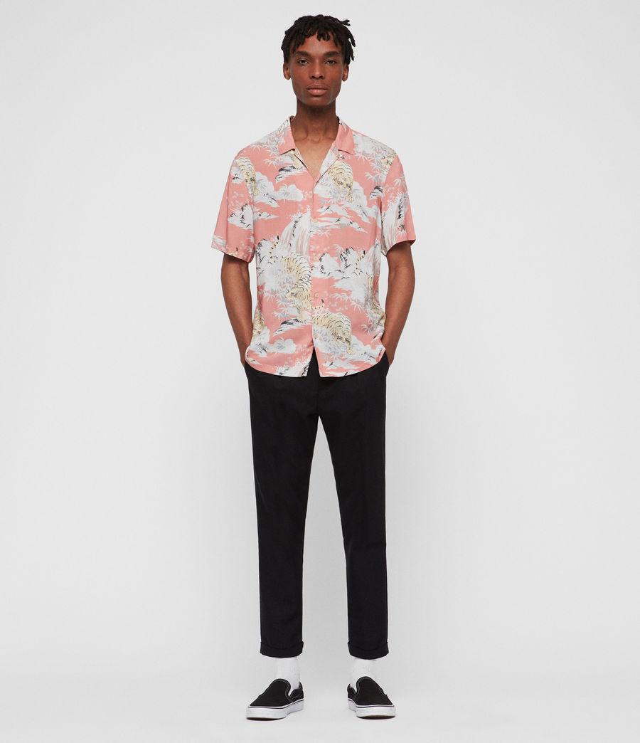 Men's Borneo Shirt (pink) - Image 4