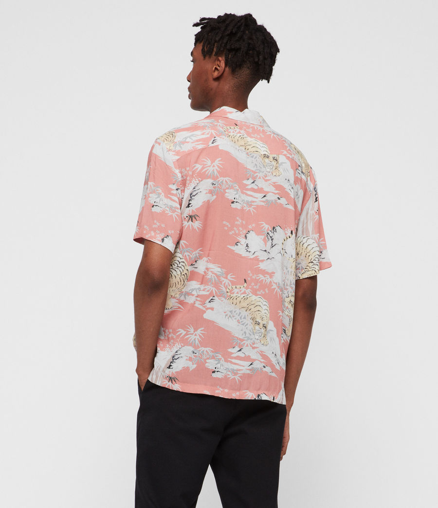 Hombres Camisa Borneo (pink) - Image 4