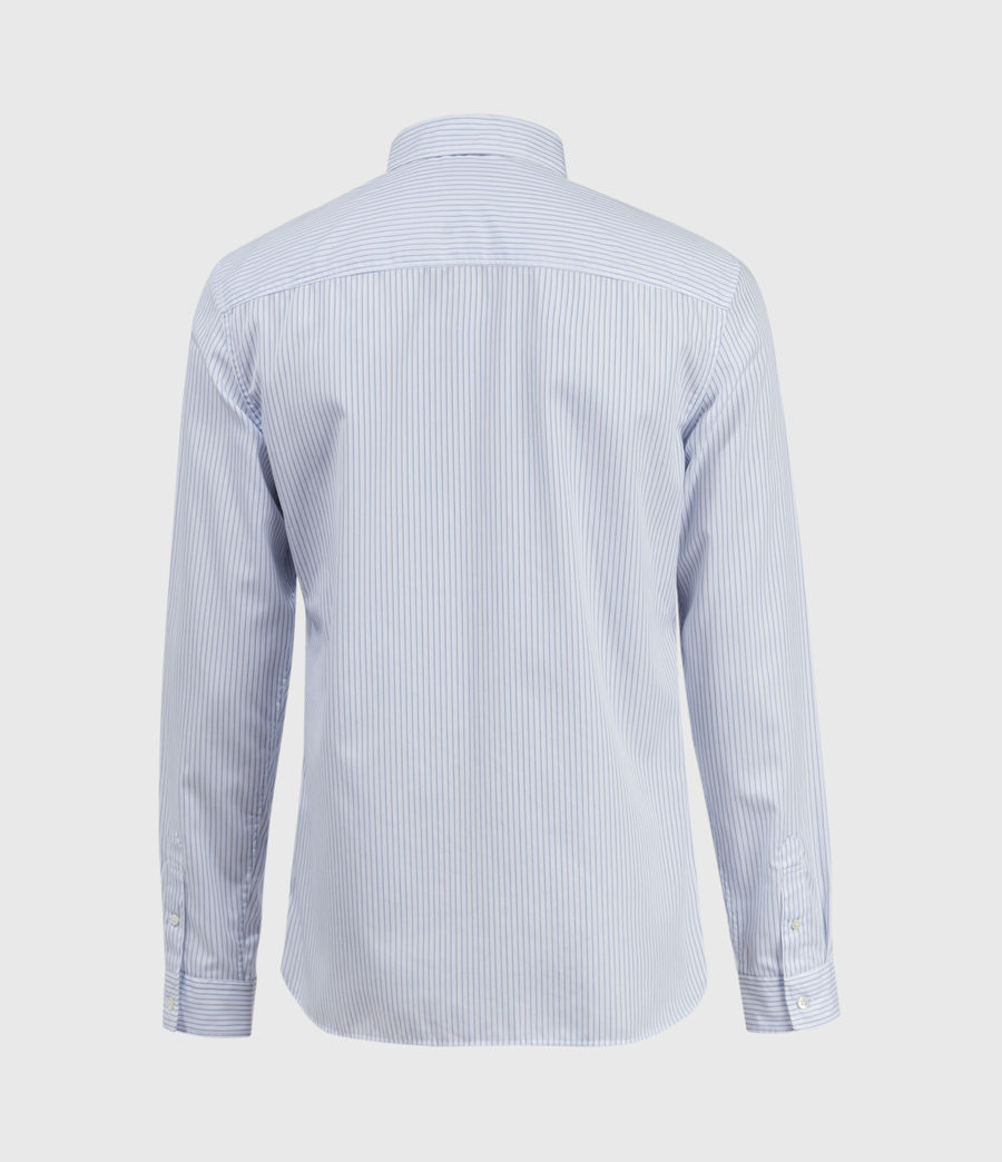 Hombres Rowland Shirt (white_blue) - Image 2