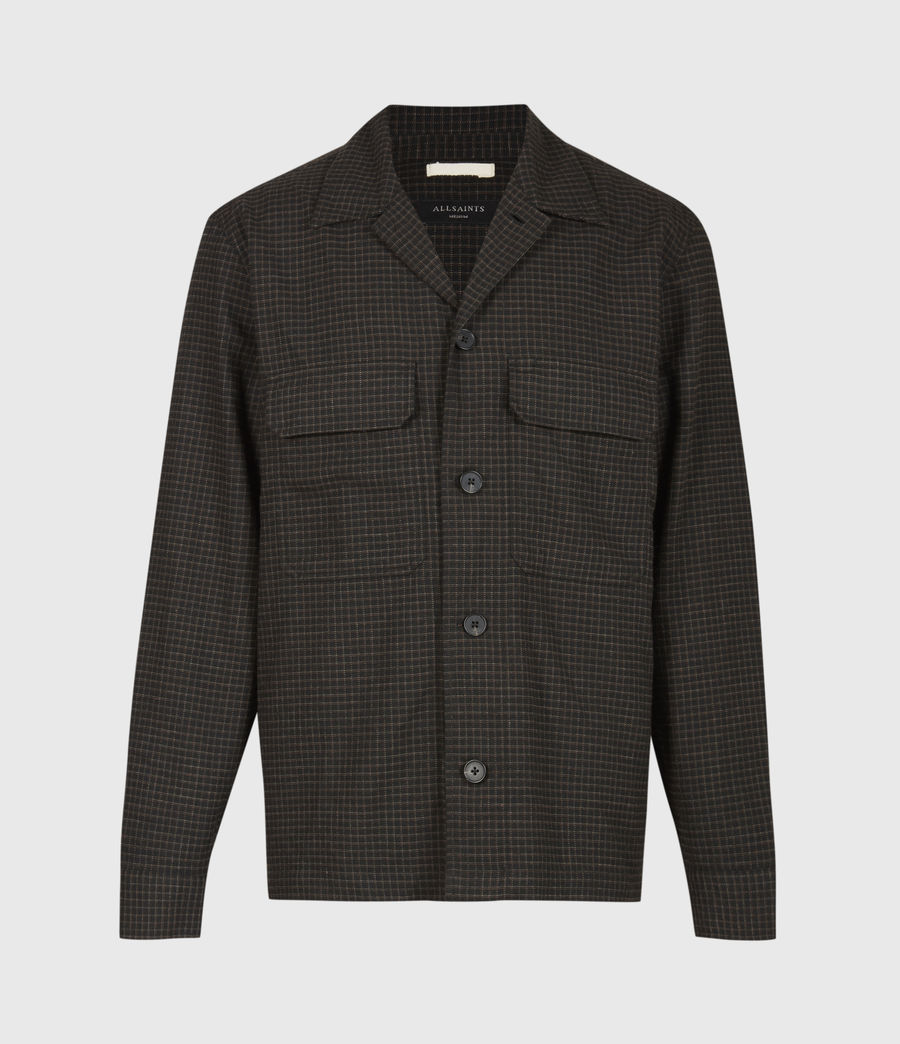 Men's Nate Bembel Shirt (black_tan) - Image 2