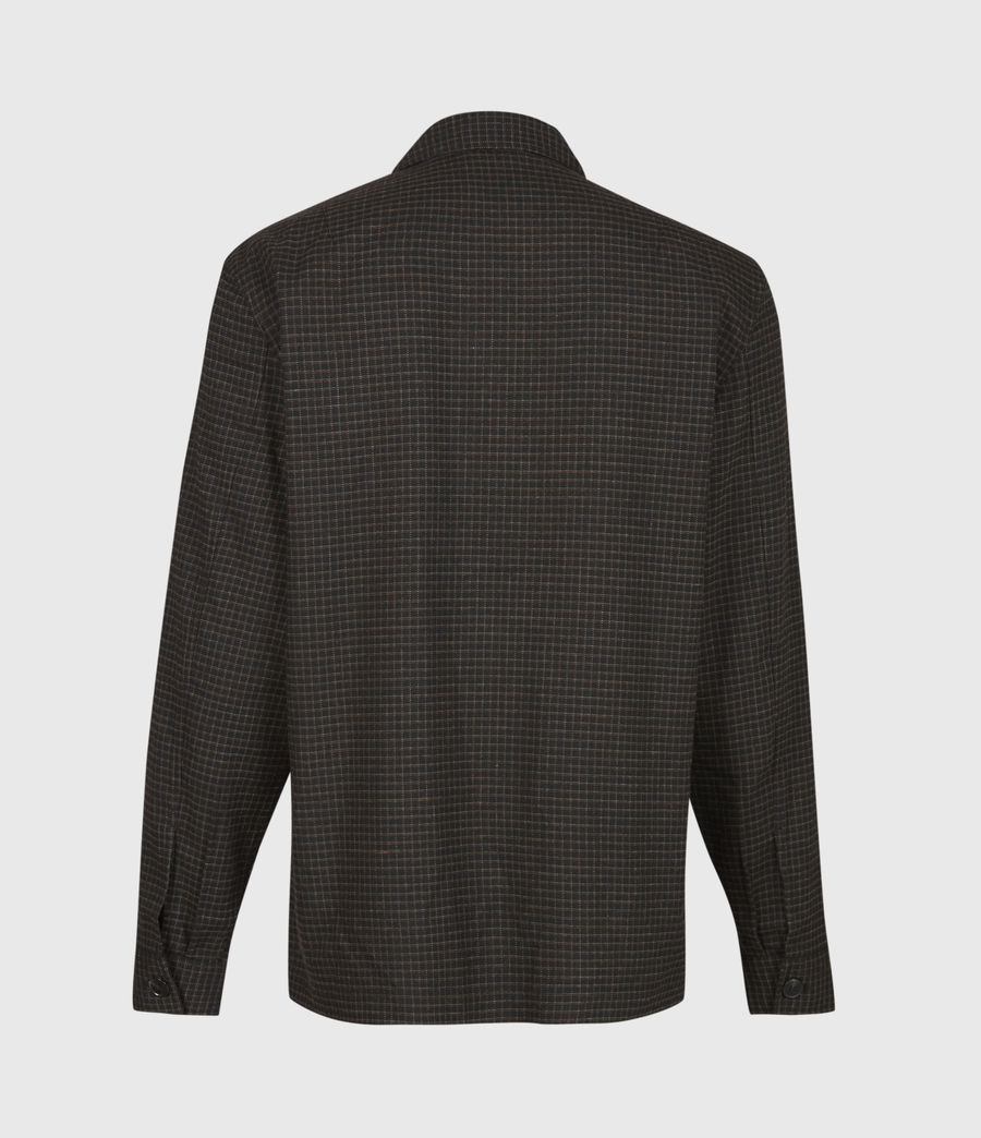 Men's Nate Bembel Shirt (black_tan) - Image 3