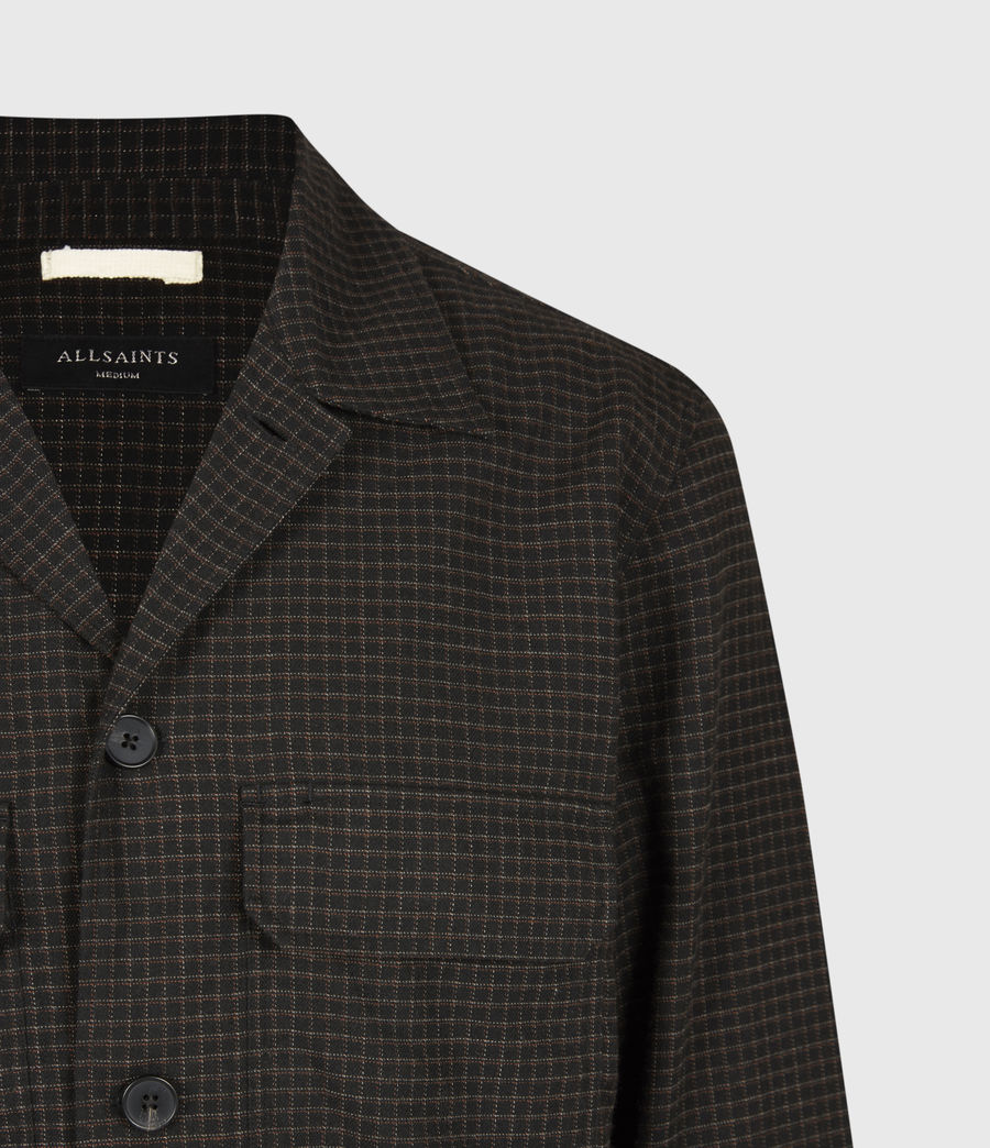 Men's Nate Bembel Shirt (black_tan) - Image 5