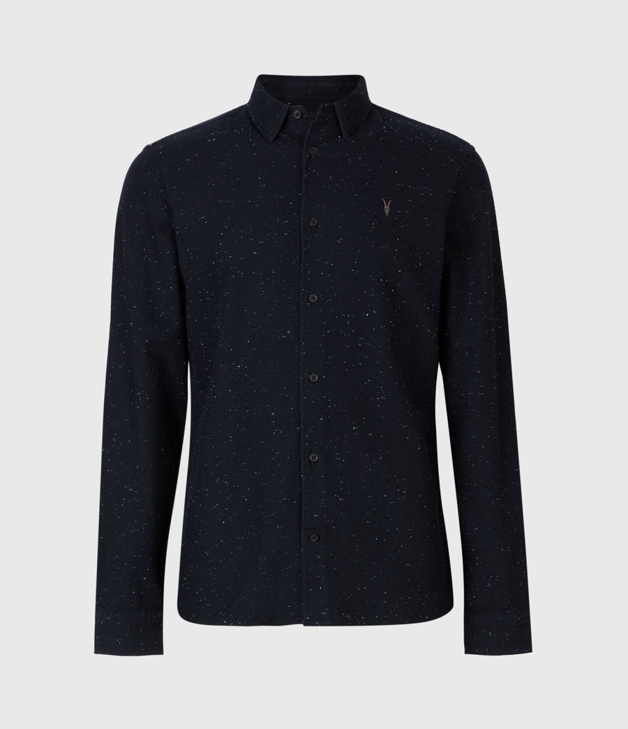 Herren Torrey Long Sleeve Hemd (black) - Image 2