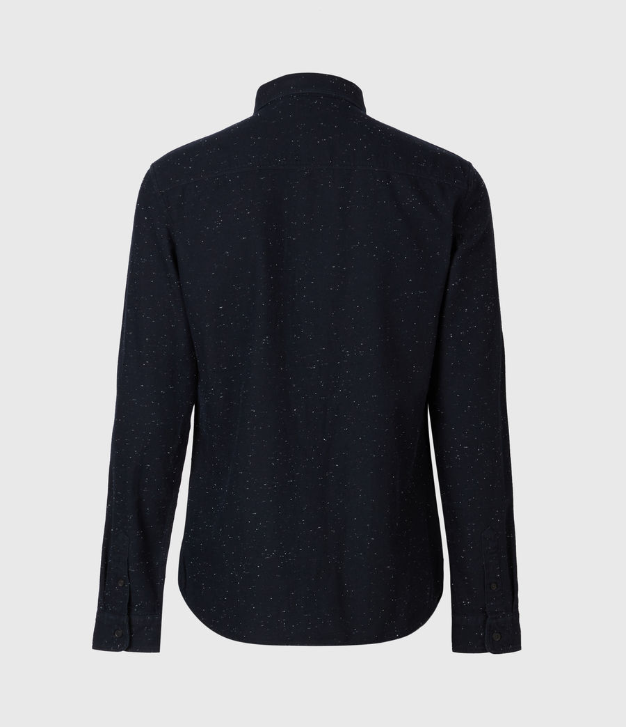 Herren Torrey Long Sleeve Hemd (black) - Image 3