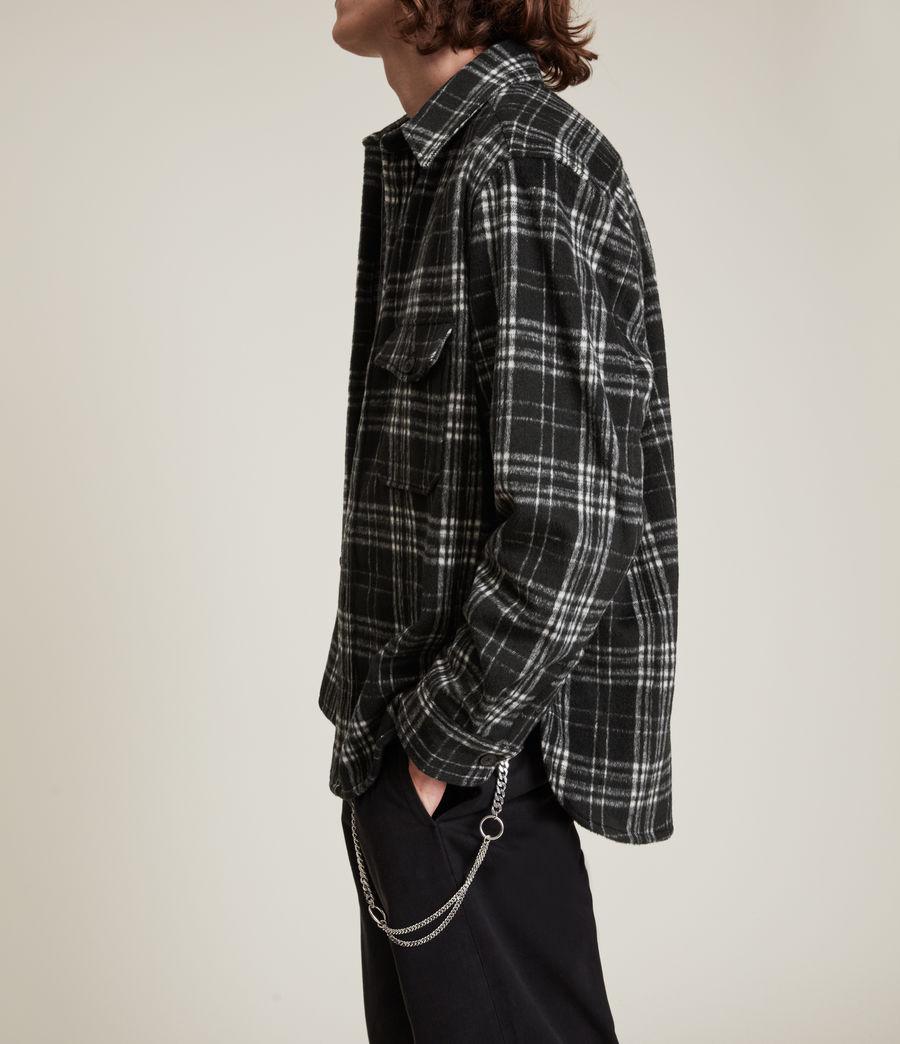 Hommes Coeburn Shirt (black) - Image 5