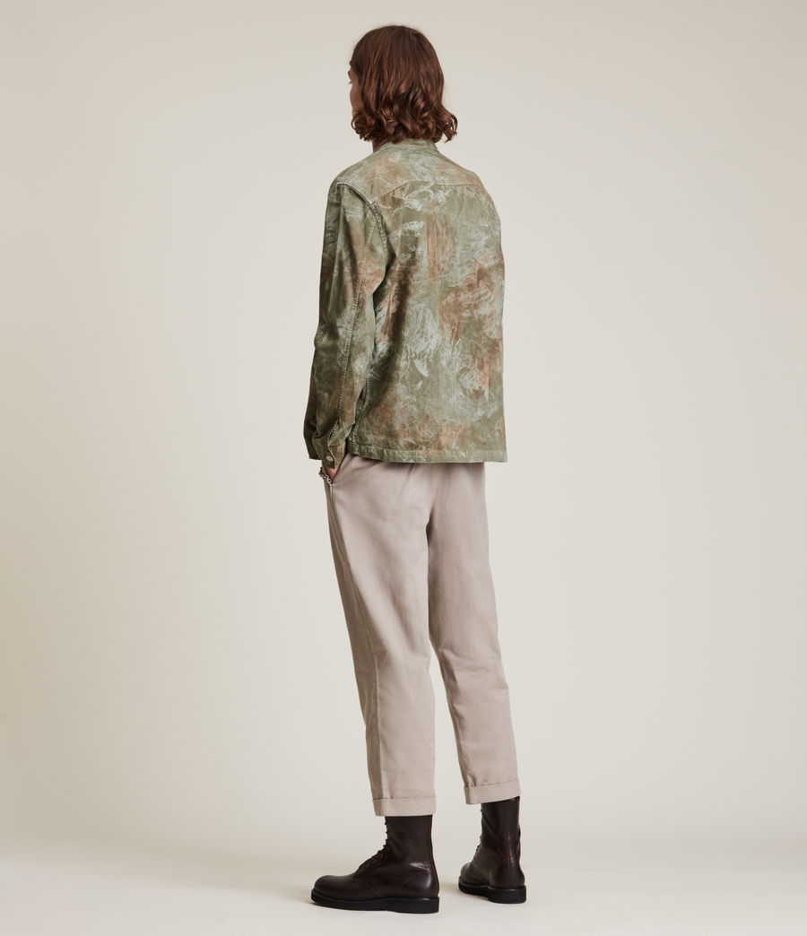 Mens Pioneer Long Sleeve Shirt (tanned_taupe) - Image 4