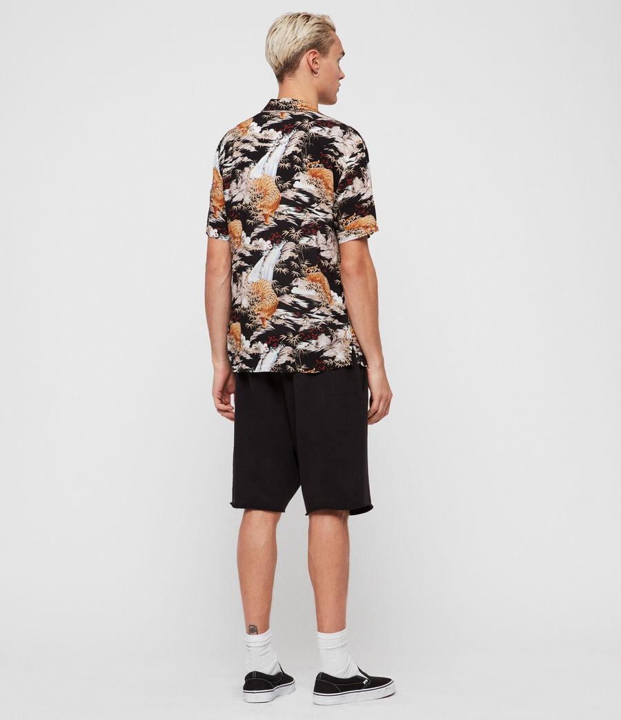 Herren Sumatra Hawaiihemd (black) - Image 4