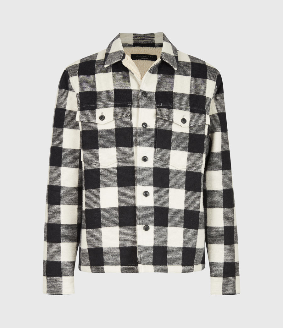 Mens Toqua Sherpa-Lined Shirt (off_white) - Image 2