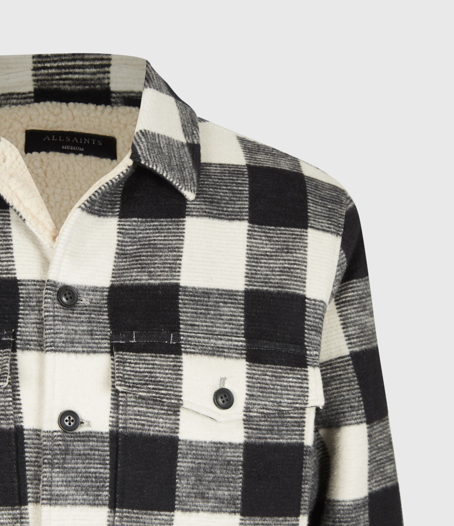 Men's Toqua Sherpa-Lined Shirt (off_white) - Image 5