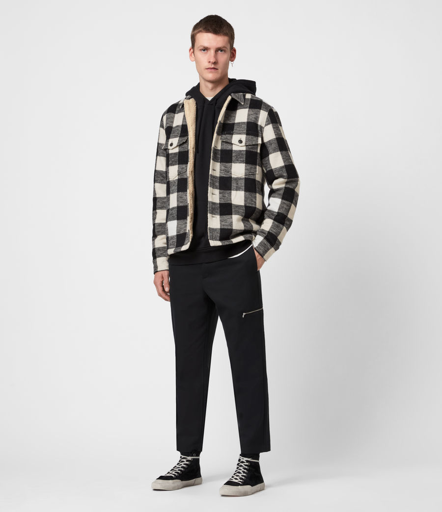 Men's Toqua Sherpa-Lined Shirt (off_white) - Image 6