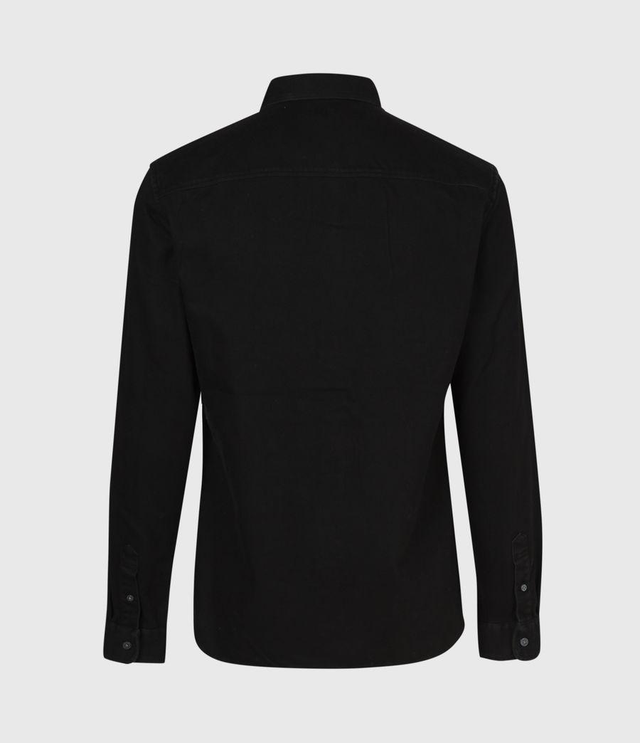 Men's Banner Shirt (jet_black) - Image 3