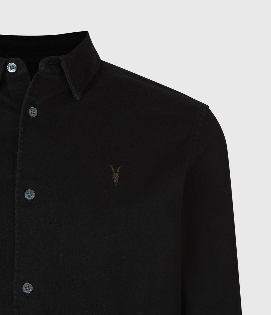 Men's Banner Shirt (jet_black) - Image 5