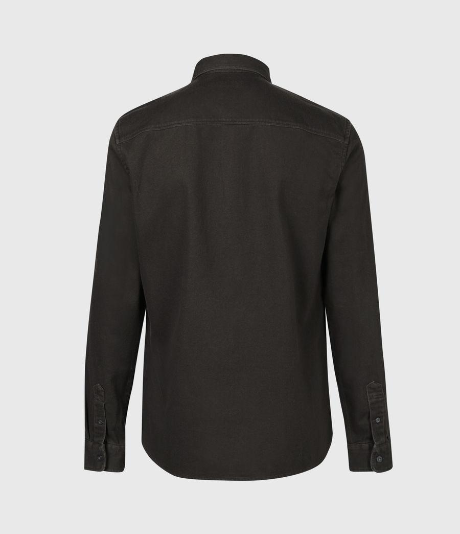 Men's Banner Shirt (iron_bark_brown) - Image 3