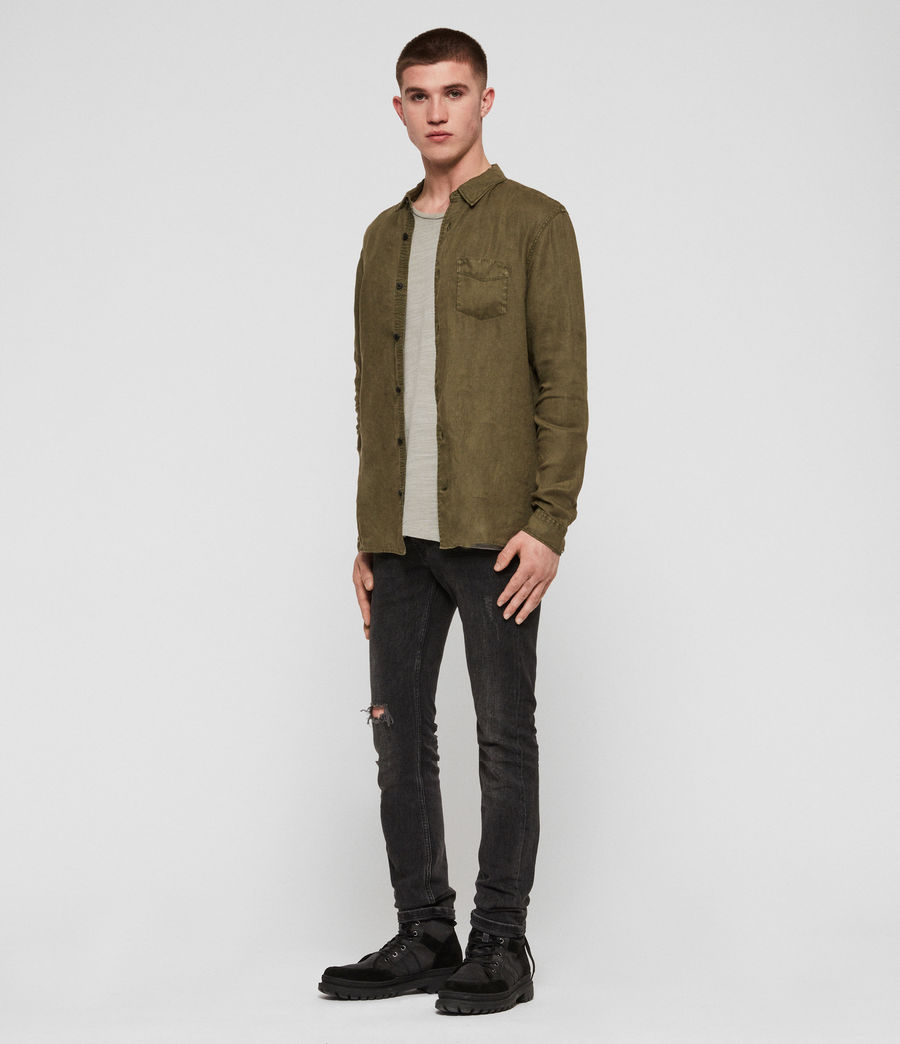 Men's Warwick Shirt (cargo_green) - Image 3