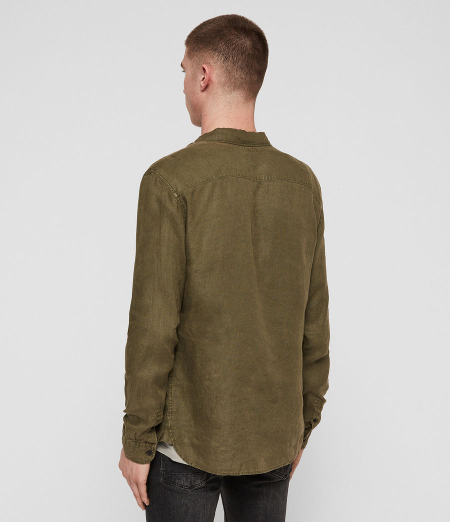 Men's Warwick Shirt (cargo_green) - Image 5