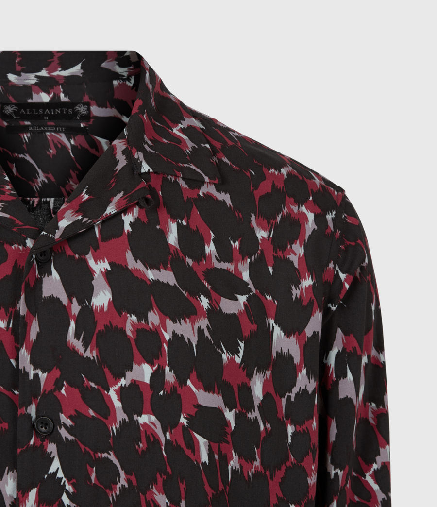 Mens Jackson Shirt (red) - Image 5