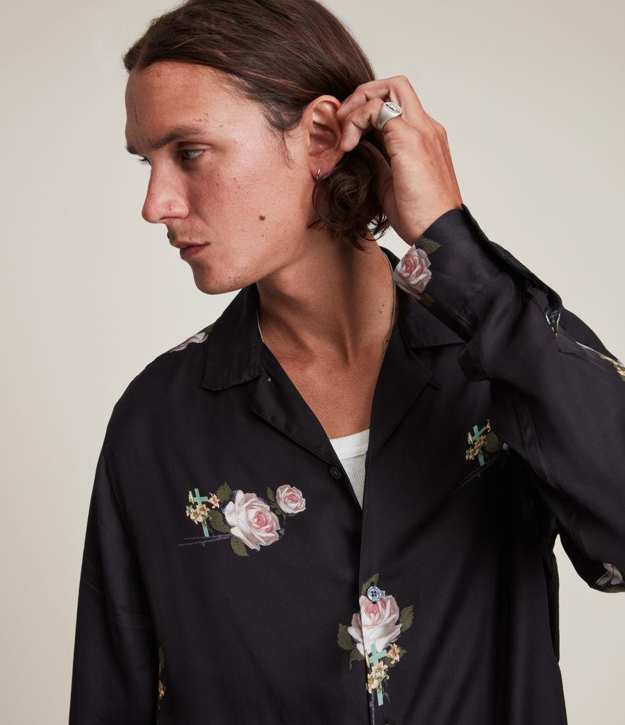 Men's Wreath Shirt (jet_black) - Image 2