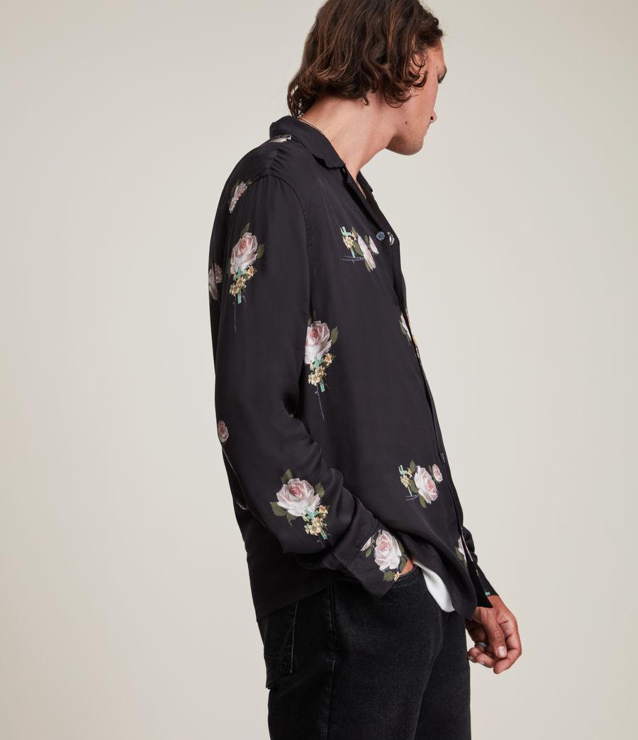 Men's Wreath Shirt (jet_black) - Image 4