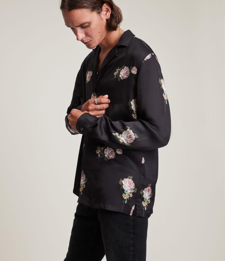 Men's Wreath Shirt (jet_black) - Image 5