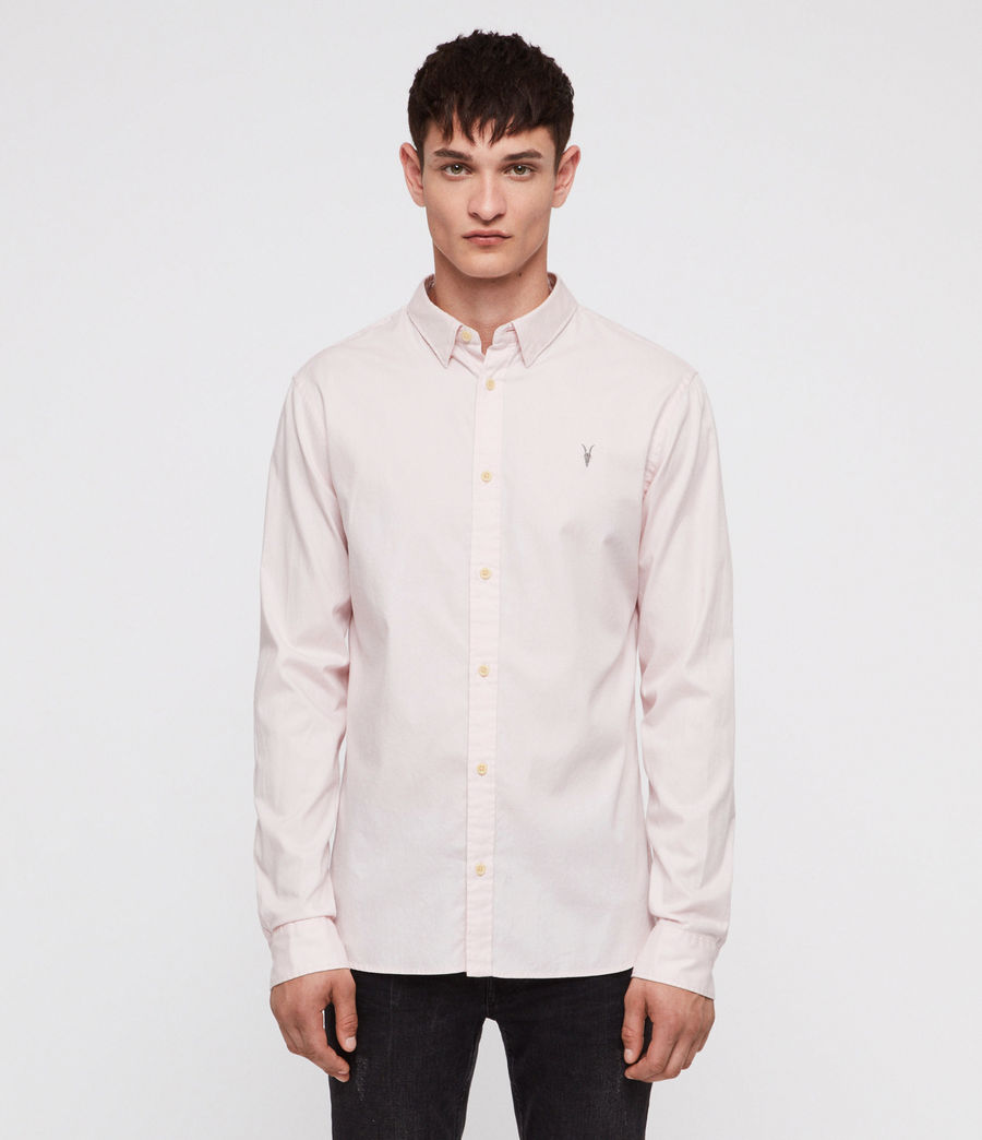 Men's Redondo Shirt (pale_pink) - Image 1